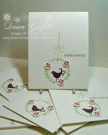 Christmas Cards Make Merry