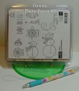 Dawns Party favor #2