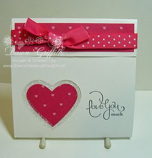 Love you much gift card holder
