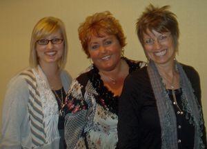 Sara, Dawn & Shelli 4-7-2010