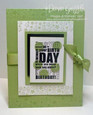 Celery Birthday spotlighting #1