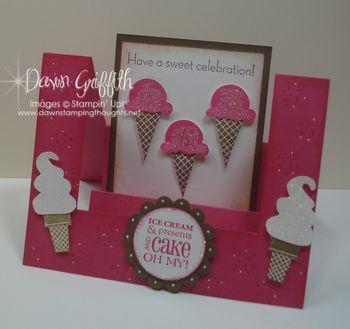 Ice Cream Celebration step card