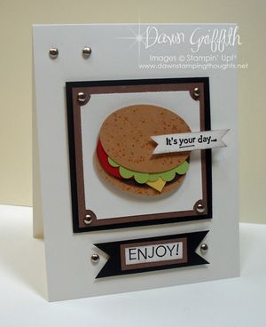 Hamburger It's your day