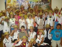 3rd and 4th graders VBS 2010
