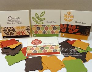 October 2010 Thank you notes
