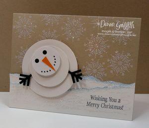Snowman card #1