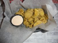 Fried pickle chips #2