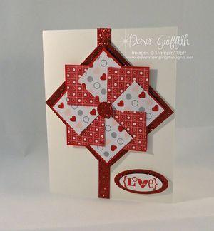 Pinwheel Love card