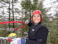 Jessie zip line Juneau AK  #2