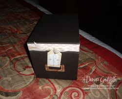 1st night pilloe gift box of goodies for make and takes