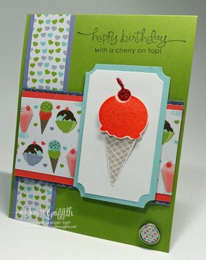 Cherry on top Birthday card