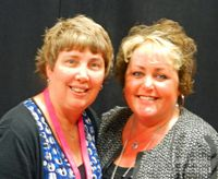 Donna and I Leadership 2012