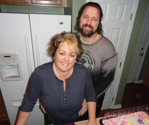 Me and my Wonderful Hubby