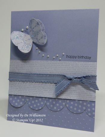 Birthday card from De Williamson