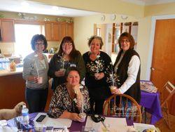 Glitter Queens workshop of a l;ifetime team meeting
