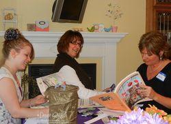 Joan , Kia & June at Dee's workshop of a lifetime  2012