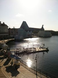 View from our room on the Boardwalk