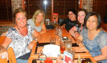 FC 2012 Dinner with friends at Iggy's
