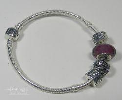 Pandora Bracelet hubby bought me