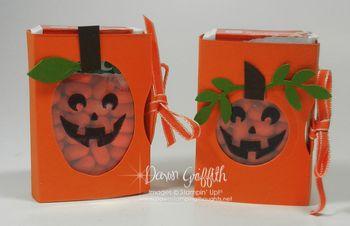 Tic Tac Pumpkins