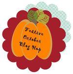 Glitter Queens Festive October button