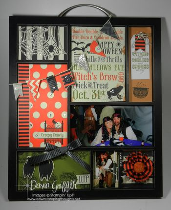 Picture Tray for Halloween