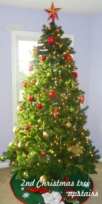 2nd Christmas Tree Upstairs