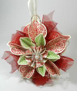 Ornament Cherry Cobbler  Gumball Green