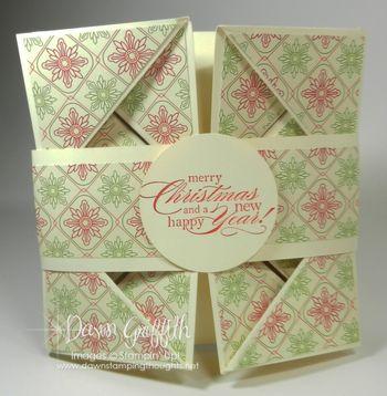 Napkin Fold card  closed