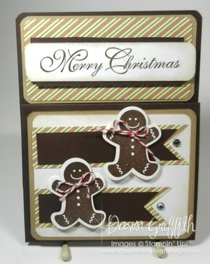 Merry Christmas Gingerbread men