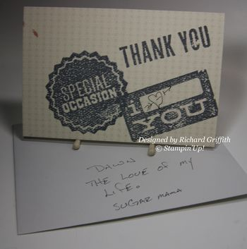 Dude, Your Welcome! card designed  by Richard Griffith