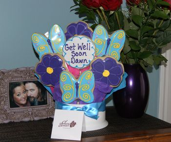 Get well Cookies from Stampers Club girls