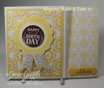 Megans Make and Take #1