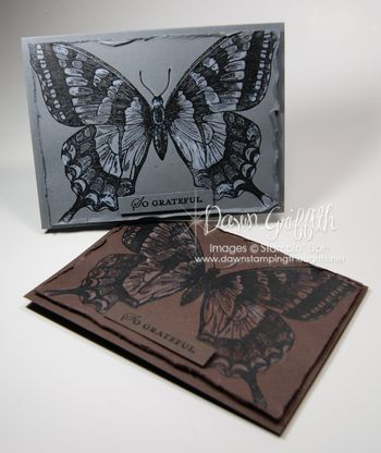 Butterfly cards