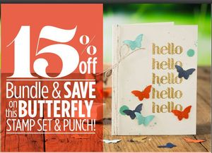 Butterfly Bundle 15%off