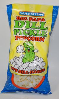 Dill Pickle Popcorn from Jessie