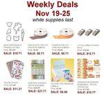 Weekly Deals Nov 19th - Nov 25th