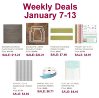 Jan 7- Jan 13 Weekly Deals