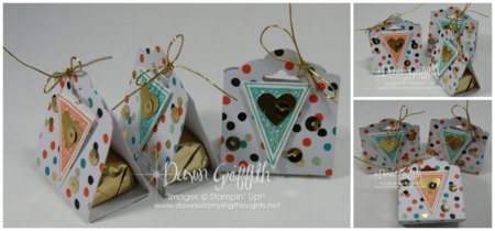Tag Topper candy holders