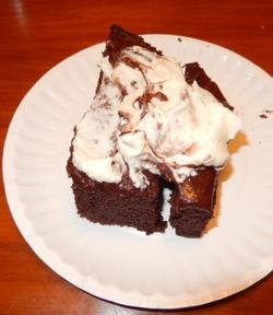 Black bean cake #2