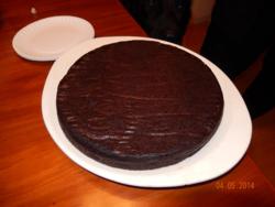 Black bean cake