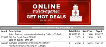 Day 1 Door buster Nov 24th ONLY