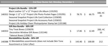 Door Buster #2 Monday  Dec 1, 2014 ONLY