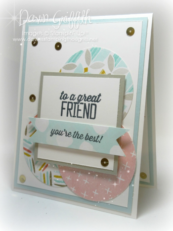 To a GREAT friend March club card 2015