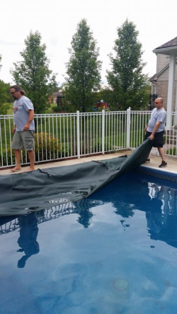 Opening our pool finally