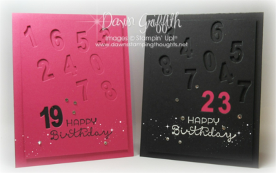 Happy Numbers Birthday card #2