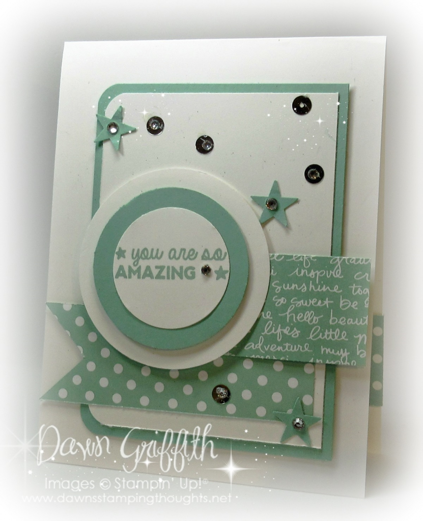 So Amazing: Dawn's Stamping Thoughts