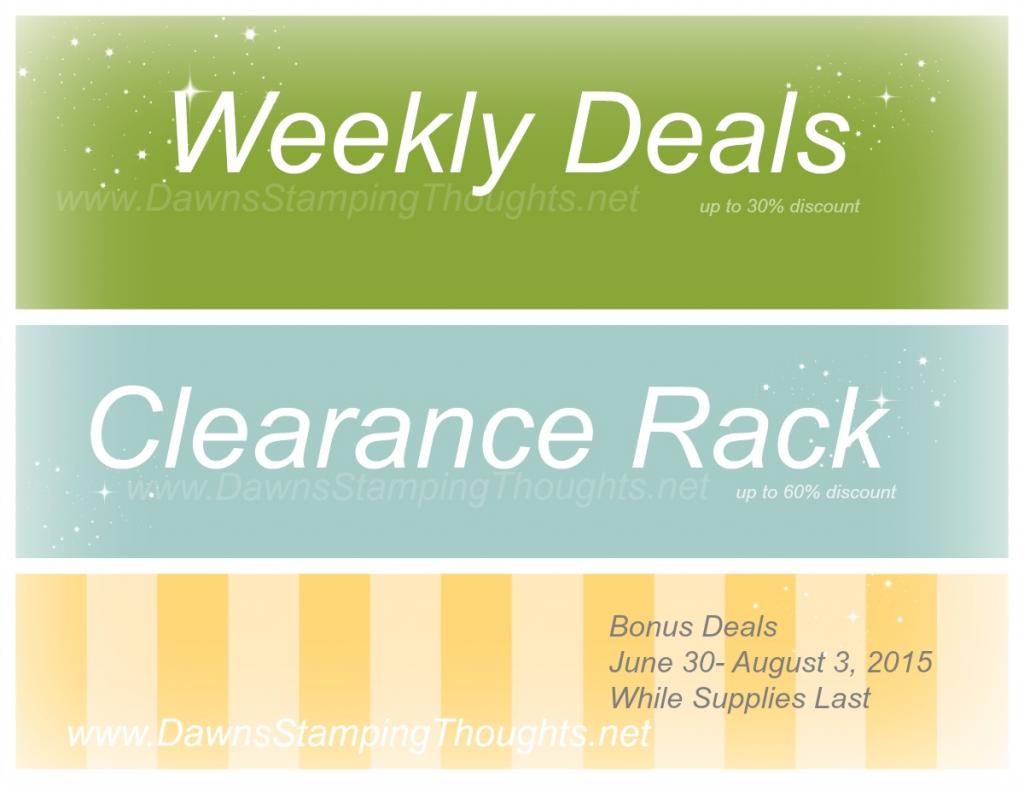 Bonus Deals