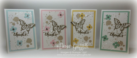 August 2015 Thank you notes
