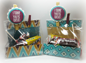 I Think you're GREAT candy bags Dawn Griffith